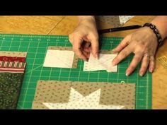Quilting Quickly: Stars for Christmas - Christmas Quilts - YouTube
