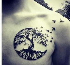 tree of life with birds tattoos - Google Search