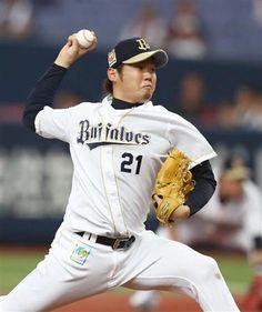 投球するオリックス・西=京セラドーム(撮影・森田達也)