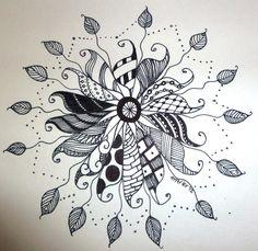 """zen"" style doodle art by JMPorter"