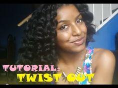 Flat Twist Out Tutorial | Natural Hair