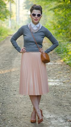 pastels outfit for fall