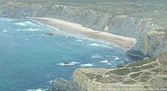 A Terceira Dimensão - Fotografia Aérea: Praia do Medo da Fonte Santa
