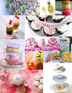 I love, and have always loved tea parties and this theme would be adorable.