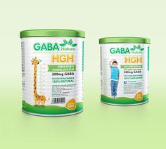 GABA - NUTRITION DRINK on Behance Milk Packaging, Beverage Packaging, Healthy Food, Healthy Recipes, Nutrition Drinks, Goat Milk, Packing, Behance, Child