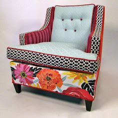 More amazing chairs by Happy Chair out of North Carolina! They sure make me Happy!