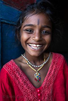 "Brett Cole: A girl from the Kalbelia ""gypsy"" caste in Kadel village near Pushkar, Rajasthan, India"