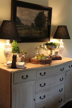 The Polohouse Savvy Southern Style: My Favorite Room.The PolohouseSavvy Southern Style: My Favorite Room.The Polohouse Dining Room Buffet Table, Dining Room Sideboard, Dining Decor, Dining Room Design, Buffett Table, Large Sideboard, Kitchen Decor, Dining Chairs, Table Lamp