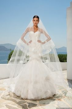 #mariagesnet #collection #robe #mariee #bride #novia #dress #vestido #mariage #boda #wedding #matrimonio #elegant #chic #fashion #trendy #love #inspiration #beautiful #romantique #veil