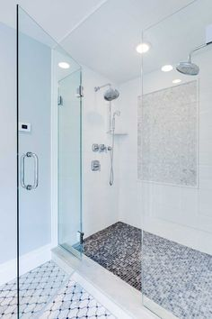 Bathrooms - JENNIFER PACCA INTERIORS  #interiordesign #homedecor #design #decor #marble #whitedecor #goals #architecture #inspiration #interior #bathroom #shower #luxurybathroom #tiles #inspo #beforeandafter #walkinshower #newbathroom #glassdoor #dreambathroom #backsplash #luxuryrealestate #bathroomremodel #bathroomdesign #realestate #remodeling  #dreamhome