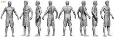 fighter shorts - 3D Scan Store: Ten 24