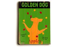One Kings Lane - Signs of Character - Golden Dog Apple