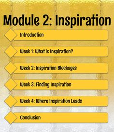 Become more #inspired and stay that way! E-learning course.