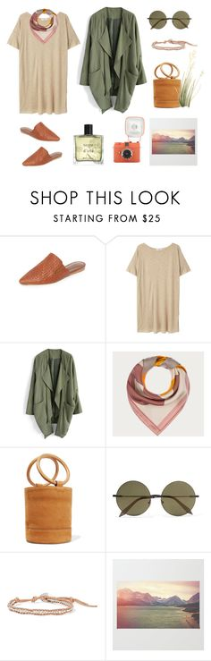 """Earthy Moss"" by stephc ❤ liked on Polyvore featuring Jenni Kayne, MANGO, Chicwish, Bally, Simon Miller, Victoria Beckham, Chan Luu and Miller Harris"
