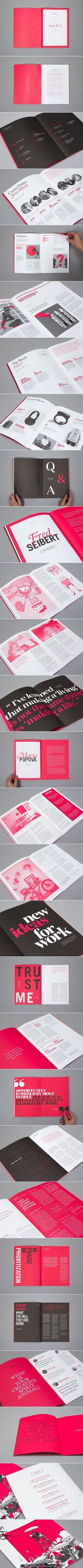 99U Quarterly Magazine :: Issue No.2. Creative direction & design: Raewyn Brandon & Matias Corea. Editorial: Jocelyn K. Glei, Sean Blanda, & Sasha VanHoven. Illustrator: Vincent Mahé.: