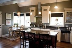 This is a great kitchen
