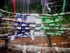 weaving for chain link fence?