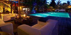 Lounge by the Pool at Casas da Vila   Trancoso, Brazil