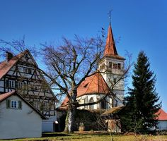 ...die ev. Kirche in Altdorf von mvchief1