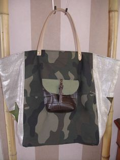 sac cabas style Pomponette : Sacs à main par l-atelier-sacs-et-deco