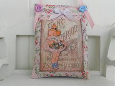 Shabby chic Lavender scented home decor
