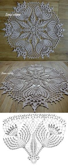Ліст «Interested in Crochet doilies and Crochet motif? 14 ideas picked for you Crochet Doily Diagram, Crochet Doily Patterns, Crochet Art, Crochet Home, Thread Crochet, Filet Crochet, Crochet Motif, Irish Crochet, Crochet Designs