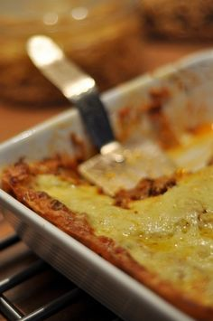 Lasagne z wołowiną i bakłażanem