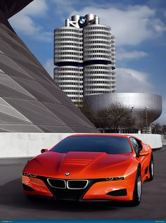 BMW M-1 - Fast car and cool architecture!  Whether you're interested in restoring an old classic car or you just need to get your family's reliable transportation looking good after an accident, B & B Collision Corp in Royal Oak, MI is the company for you!  Call (248) 543-2929 or visit our website www.bandbcollisioncorp.net for more information!