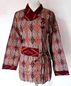 Gambar Model Baju Batik 2016 Full Motif - Modelbaju.web.id - Modelbaju.web.id