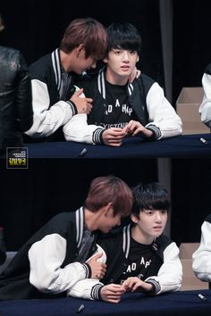 My fuckin god... did Kookie really move away?! 0_0 who are you and what have you done with Jungkook?! .... unexpected plot twist.  XD