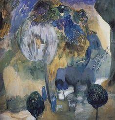 fleurdulys:  Blossoming Mountains - Martiros Saryan 1905