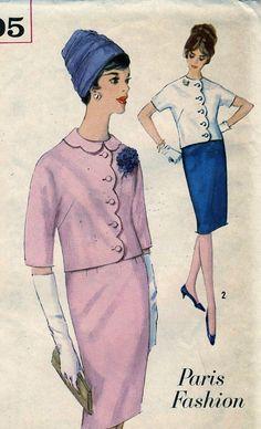 Vintage Simplicity 5305 UNCUT Misses Scalloped by RomasMaison, $18.00