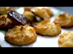 Borbás Marcsi szakácskönyve - Kókuszcsók (2020.02.16.) - YouTube Chocolate Cookies, Pretzel Bites, Baked Potato, Cake Recipes, Potatoes, Sweets, Bread, Baking, Vegetables