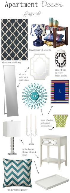 Ideas for apartment decor! One piece could define a room! #livewashingtoncrossing