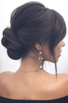 Neu Trend Frisuren 2019 30 Wedding Hairstyles 2019 Ideas ❤️ We have collected wedding makeup ideas based on the wedding fashion week. Look through our gallery of wedding hairstyles 2019 … Elegant Wedding Hair, Wedding Hair And Makeup, Bridal Hair, Wedding Nails, Hair Wedding, Hair Makeup, Bridal Makeup, Wedding Bride, Wedding Shoes