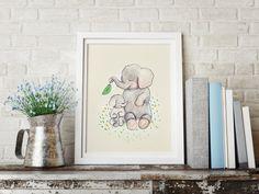 Mothers love PRINT Nursery art Nursery decor Kids by holli