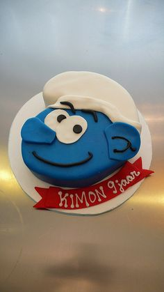 Smurf Cake  Flickr Photo Sharing cakepins.com