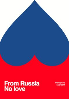 7 creative posters that challenge russia's homosexuality laws
