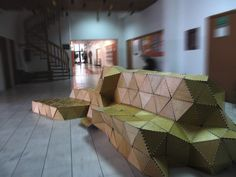 origami street furniture