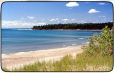 The beach at Inverhuron Provincial Park. A nice little gem in the bush on lake huron.