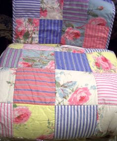 This Ralph Lauren Watermill Patchwork Quilt is one of my all time favorites.