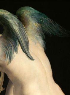 fletchingarrows:  slojnotak:  Parmigianino - Cupid Making His Arch (c.1533–35)  tiny angel Classical Art, Amorini, Rennaissance Art, Renaissance, Painting, Art History, Material Things, Vienna Austria, Caravaggio