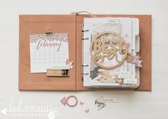 March 2015 Heidi Swapp Wanderlust - Off We Go Mini Album by Jamie Pate for the World Wide Insta Meet