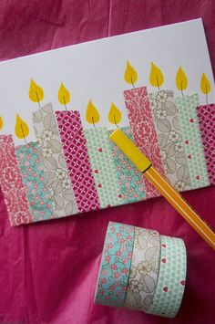 Craftwork Cards Candle Cards with Panels and Paper Bundle NEW