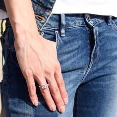 Our three stone diamond ring as featured in the exciting new Tommy Hilfiger Spring Summer 2015 photoshoot! Browse online: www.shireeodiz.com/engagement/trilogy-3-stone-diamond-ring-1