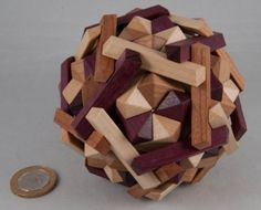 GEOMETRIC PUZZLE/CONSTRUCTION by Kostic... http://allardspuzzlingtimes.blogspot.co.uk/2011/07/kosticks-geometric-works-of-art.html
