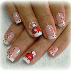 Navidad Christmas Nails, Winter Holidays, Snowman, Make Up, Finger Nails, Baby Nails, Little Girl Nails, Nail Art Designs, Nail Manicure