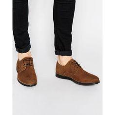 Homme Bleu Marine En Cuir Véritable Bottes à Lacets Red Tape Chaussures New UK Tailles 7-12
