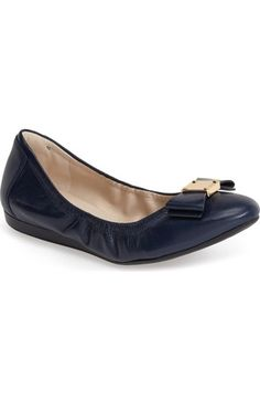 Cole Haan 'Tali' Leather Ballet Flat (Women) available at #Nordstrom