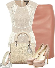 """""""Leather and Lace Contest"""" by jliz516 ❤ liked on Polyvore"""